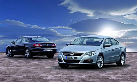 Volkswagen CC – спортивный силуэт нового Passat