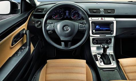 Volkswagen CC – спортивный силуэт для нового Passat