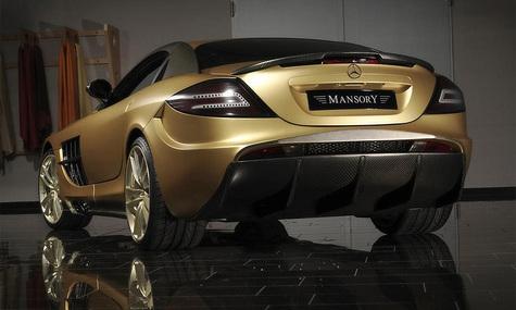 SLR McLaren от MANSORY – золото с карбоном