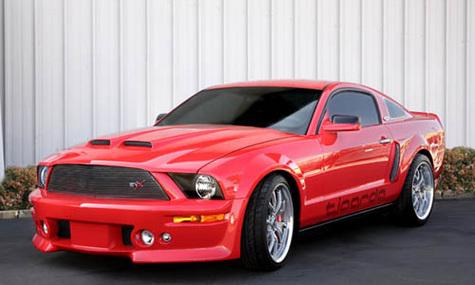 Shelby Cobra и Mustang обзавелись электромоторами