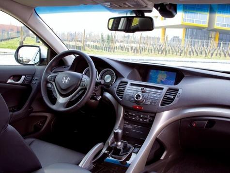 Honda Accord попал в «красную точку»