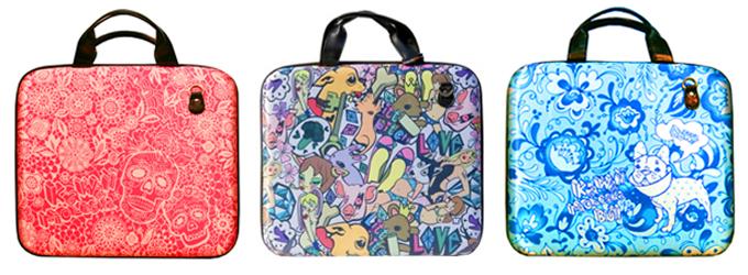 женские сумки и чехлы для ноутбуков Kawaii Factory.