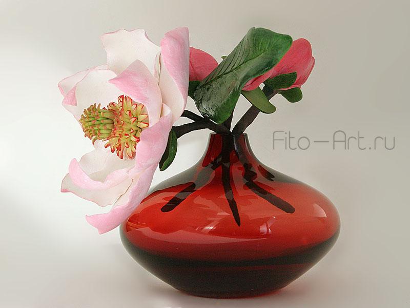 цветок магнолии для украшения интерьера дома
