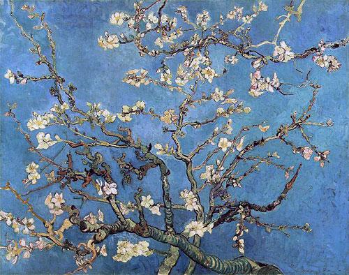 Ван Гог - Цветущий миндаль