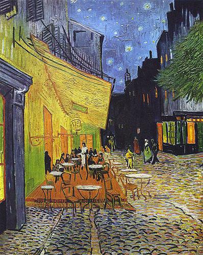 Ван Гог - Терраса ночного кафе Плейс ду Форум в Арле