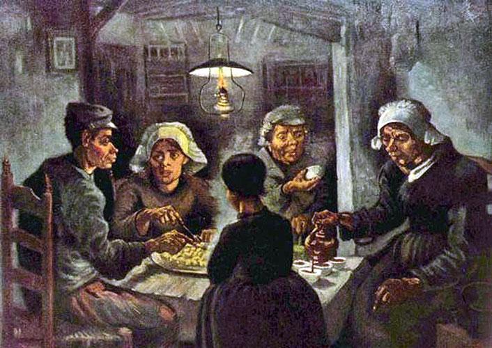 Ван Гог - Поедатели картофеля