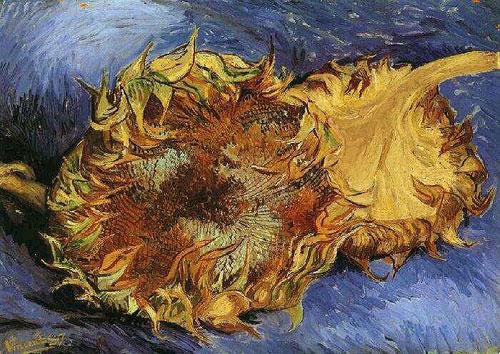 Ван Гог - Два срезанных подсолнуха