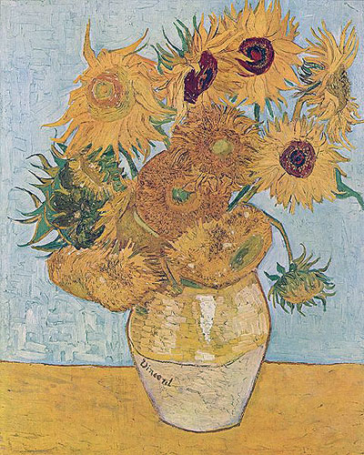 Ван Гог - Ваза с двенадцатью подсолнухами