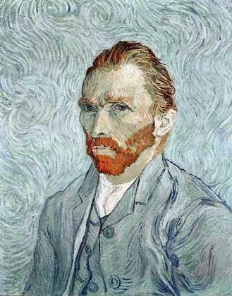 Ван Гог - Автопортрет