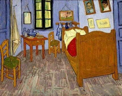 Ван Гог - Спальня Ван Гога в