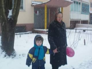 КИРИЛЛ с бабушкой