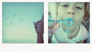 Немного мыльных пузырей