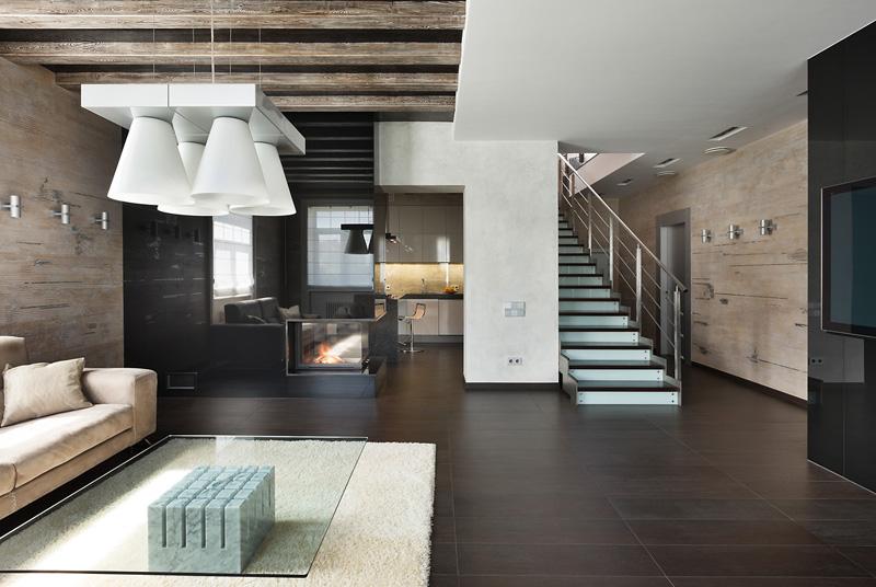 Интерьер дома в стиле минимализма
