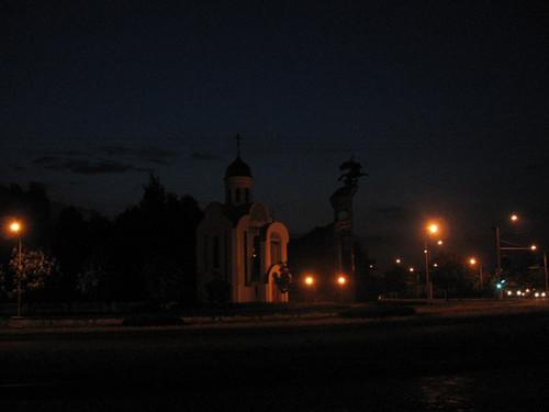Ночной Бобруйск