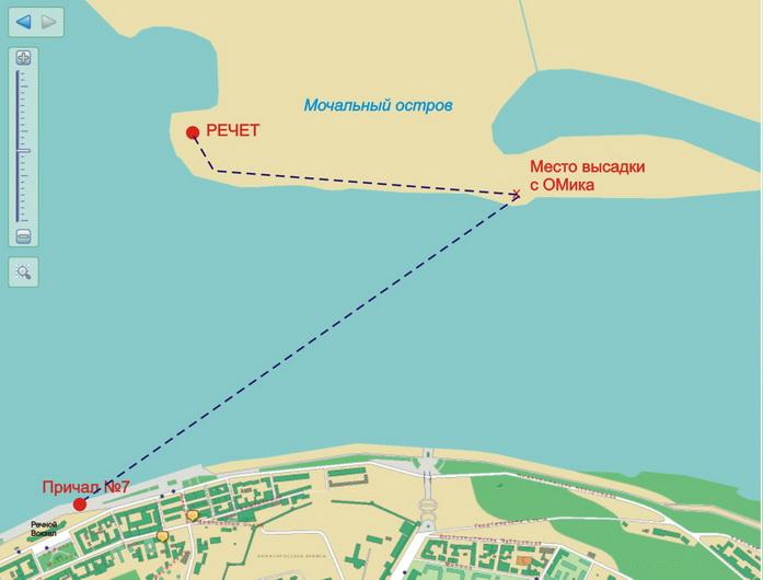 Схема проезда нижний новгород-остров