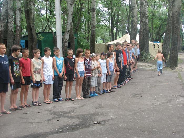 Військово спортивний дитячий табір в криму