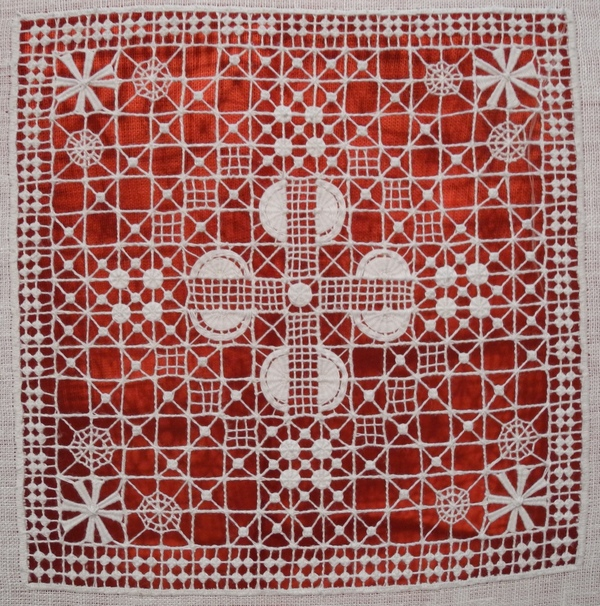 Крестецкая вышивка мастер класс
