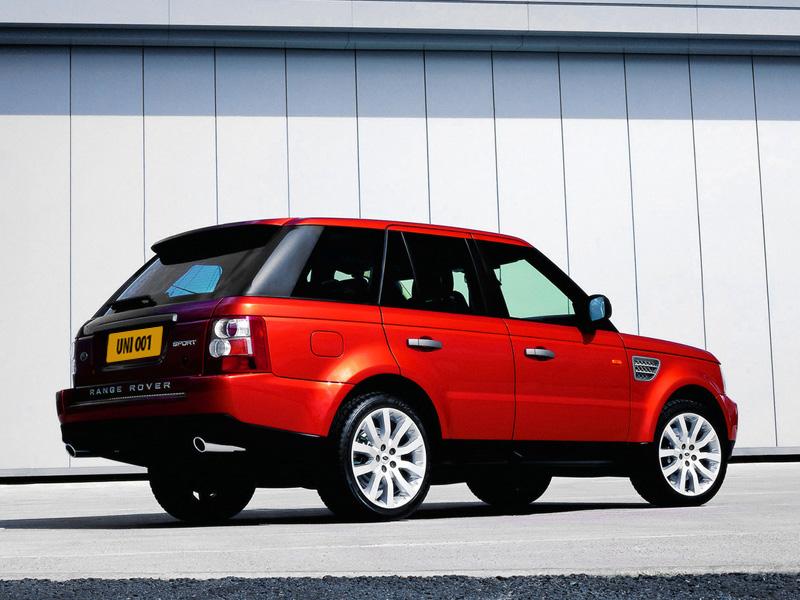 Юний Давыдов и Range Rover Sport