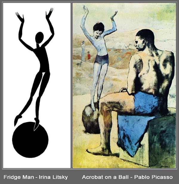 Пикассо /Девочка на шаре