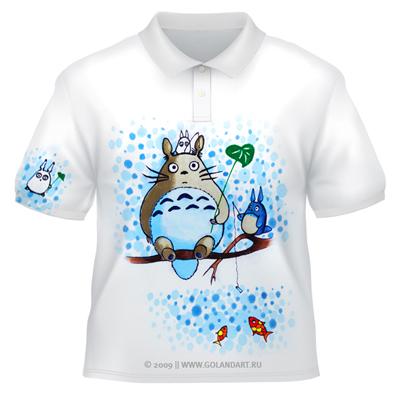 Разрисованные футболки своими руками