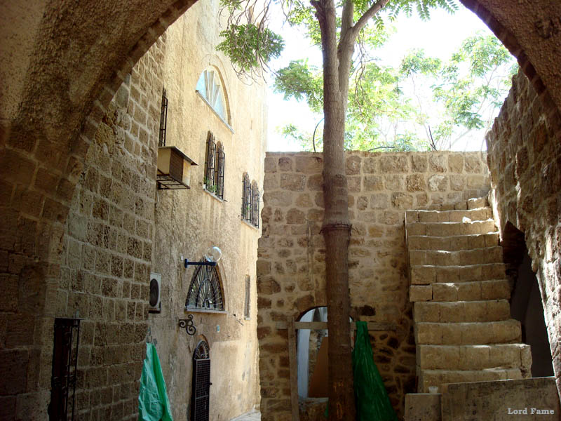 Городок Яффа, Израиль. Почти Тель-Авив.