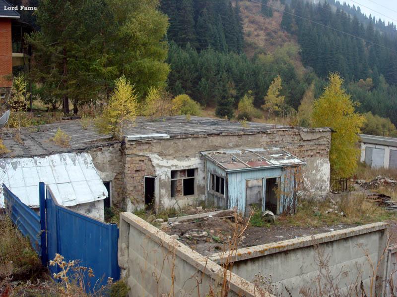 Заброшенная горно-тракторная организация
