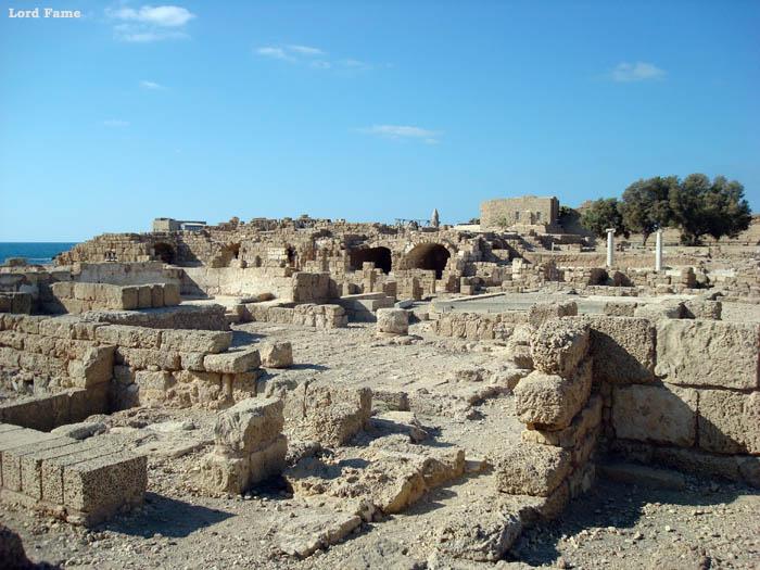 Кейсария — древний город