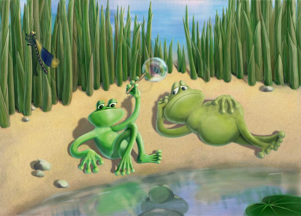 Как из двух лягушек сделать одну