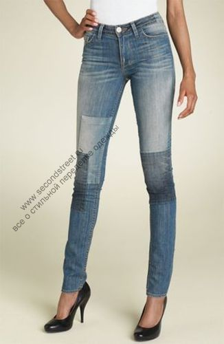 кастомайзинг, переделка джинс.
