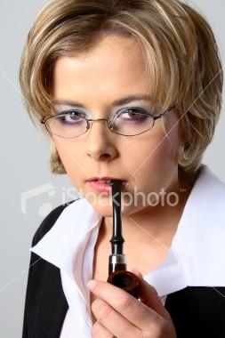 Женщины и трубки