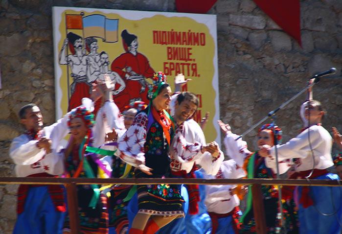 Концерт у збаразькому замку