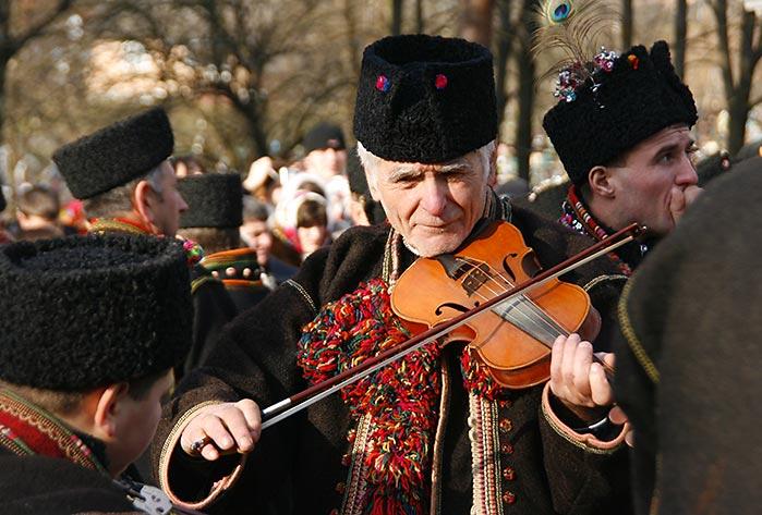 Скрипаль у Криворівні