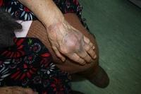 Бабушку избили