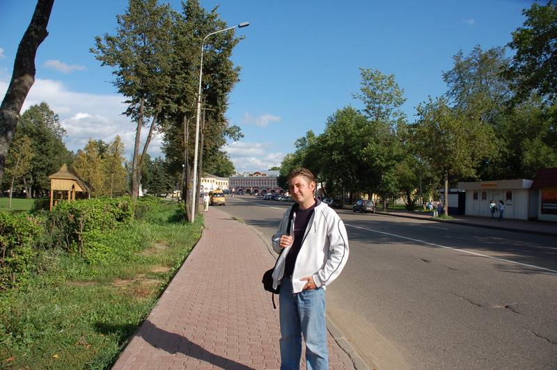 На улицах Углича