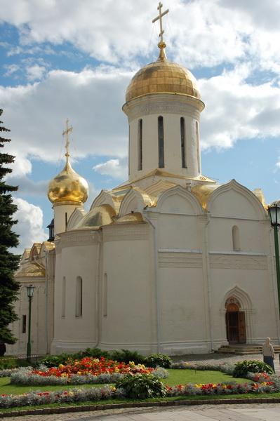 Усыпальница Сергия Радонежского