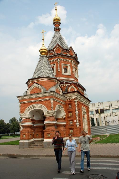 Маленький храм Александра Невского