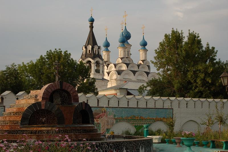 Вид на Благовещенский монастырь