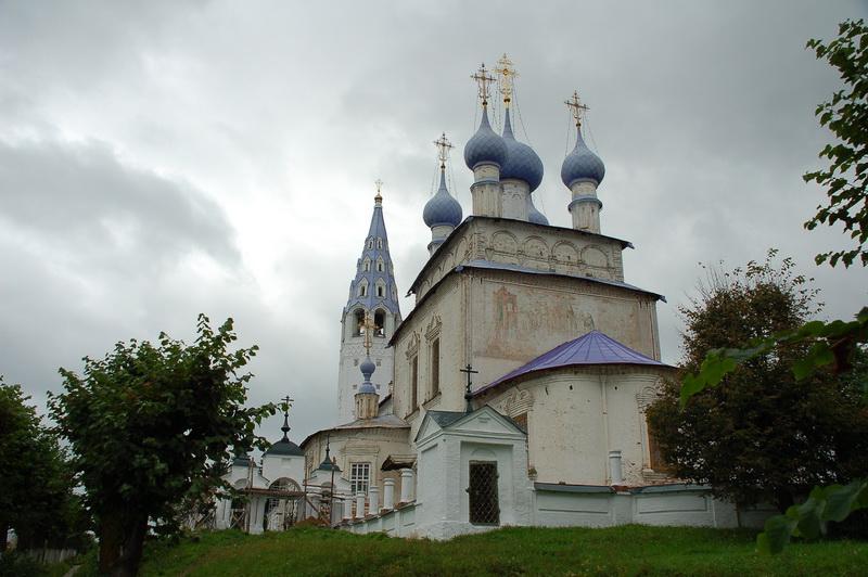 Церковь в Палехе
