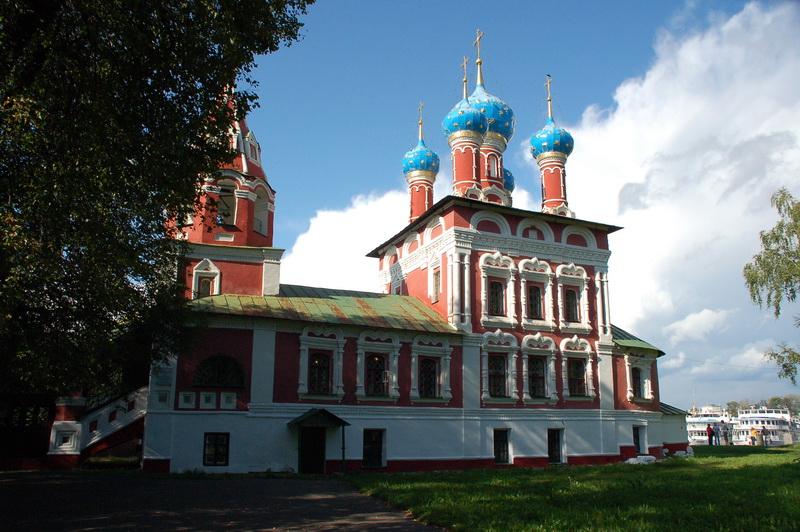 Церковь царевича Дмитрия