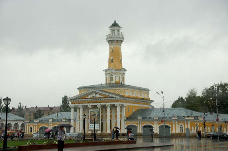 Пожарная Каланча на площади Ивана Сусанина