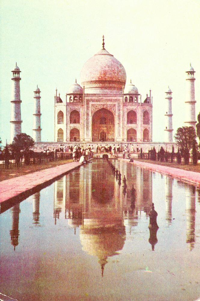 Индийские фото открытки с