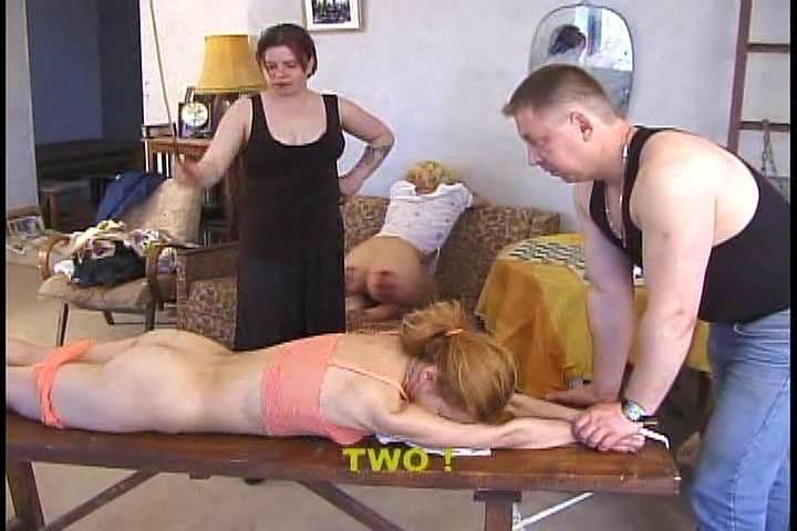 Порно русская порка розгами
