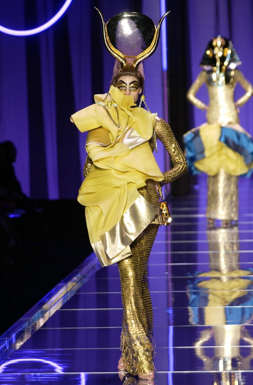 Rihanna, Cardi B & Others Blend Fashion and Religion at John galliano egyptian fashion