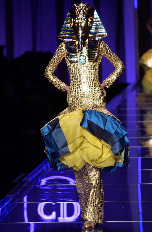 John galliano egyptian fashion
