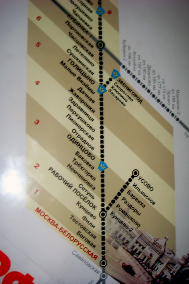 станция - Немчиновка.