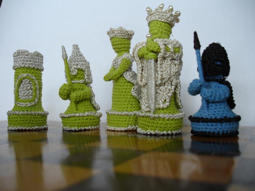 Поделки на тему шахматы из разных материалов