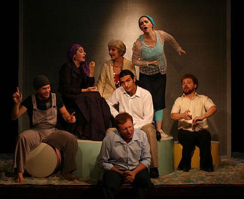 תיאטרון מיקרו - הצגה הזכות להיות אידיוט