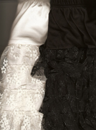 Платье и блуза из гипюра своими руками
