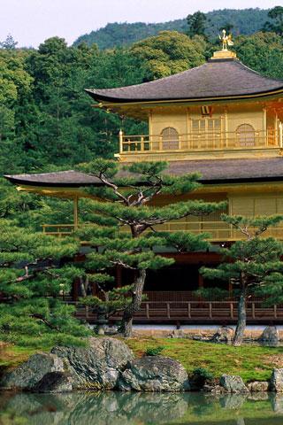 Обойка для iPhone с видом Японии