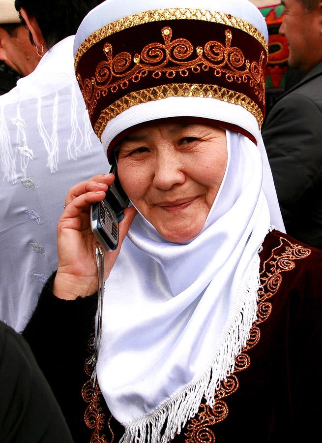 Одежда Киргизия